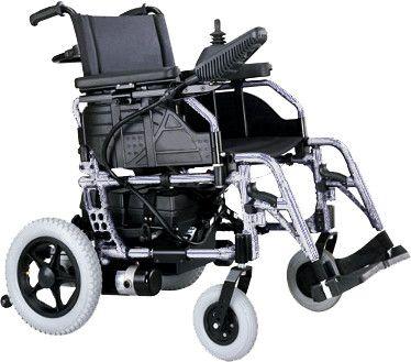 Silla de Ruedas Eléctrica HERA. Plegable. #silladeruedas #accesibilidad #movilidad #ortopedia #salud #ortopediaparati