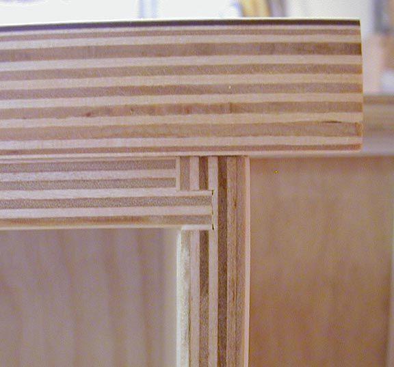Great White Laminate And Exposed Finished Plywood Edges