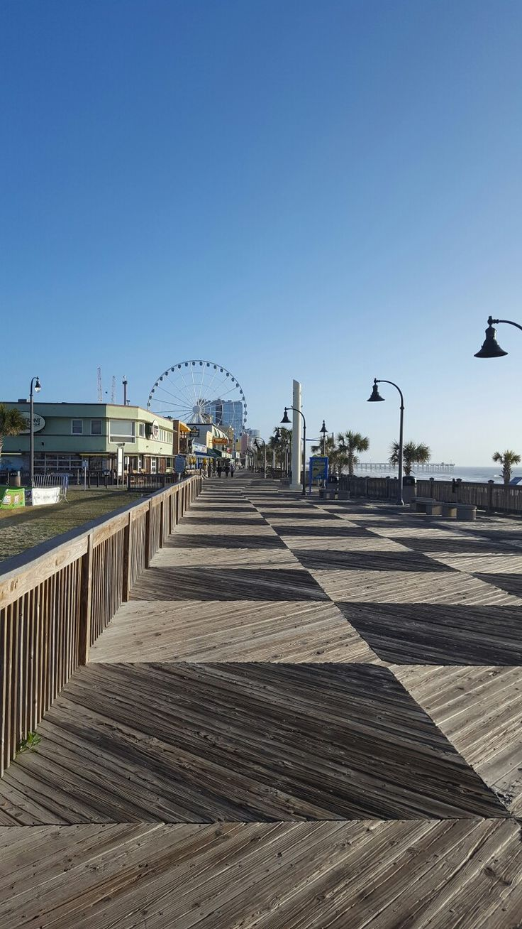 Boardwalk at Myrtle Beach,  SC - LOVED it, Feb. 2017. Weather perfect.