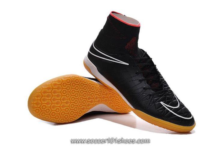 Nike Mens Hypervenom Phantom II IC Indoor Football Boots Soccer Shoes Black $73.00