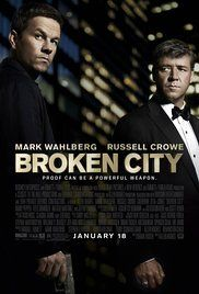 Broken City Poster year 2013. Mark Wahlberg played Billy Taggart.