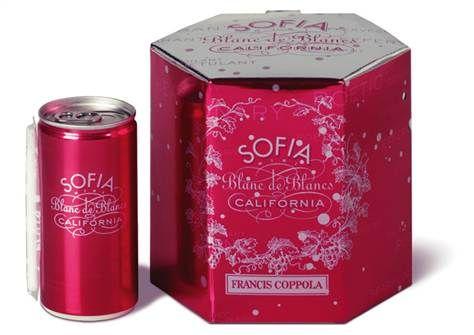 sofia coppola champagne cans
