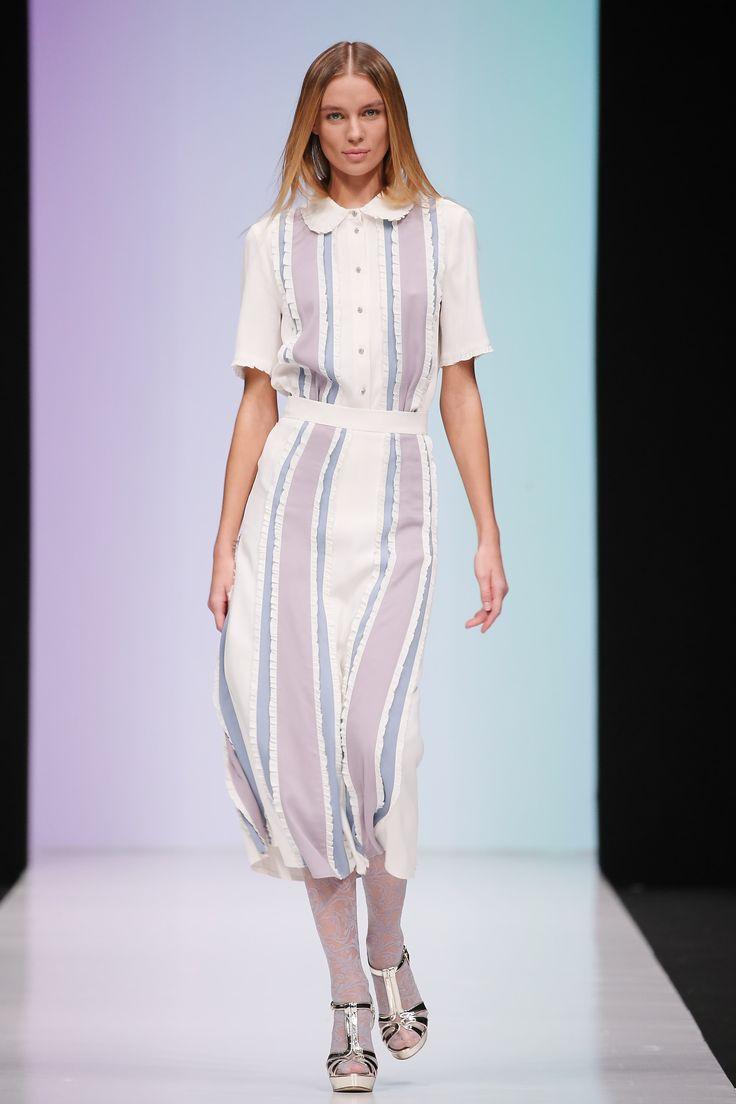 33rd Season of Mercedes-Benz Fashion Week Russia Day 2 Laroom
