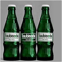 Traubisoda. Hungarian non-alcoholic beverage made of grapes. Must-try! #Hungary #drink I remember drinking this on my summer visits to Hungary as a child :)