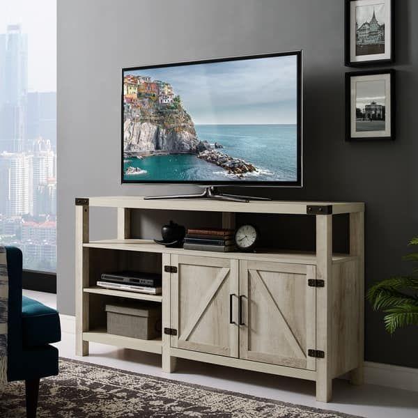 58-inch Barndoor Highboy TV Stand Media Console
