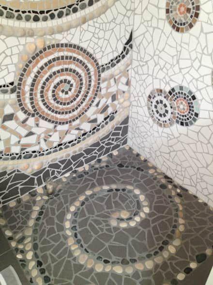 17 best ideas about badezimmer mosaik on pinterest | bad mosaik, Wohnzimmer dekoo