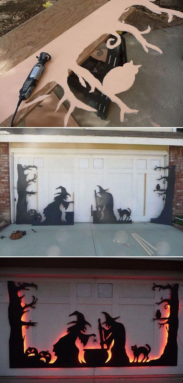 20 Cool DIY Halloween Projects Will Give Your Guests A Fright halloween #decorat…