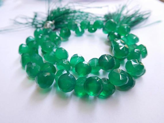 Onion Shape Beads Green Onyx Natural Gemstone 6-7 Mm Faceted https://www.etsy.com/listing/551790232/onion-shape-beads-green-onyx-natural?ref=shop_home_active_32&utm_campaign=crowdfire&utm_content=crowdfire&utm_medium=social&utm_source=pinterest