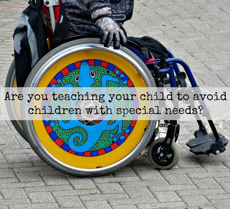 teaching about special needs