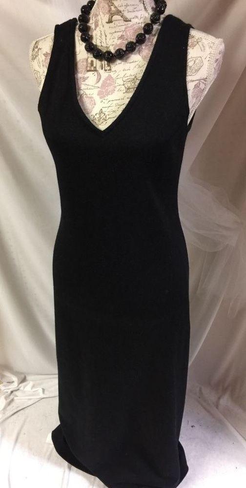 Fritzi Women's Black SLEEVELESS Stretch Festive Event Party Maxi Dress S 4-6 #Fritzi #MaxiSleeveless #Casual