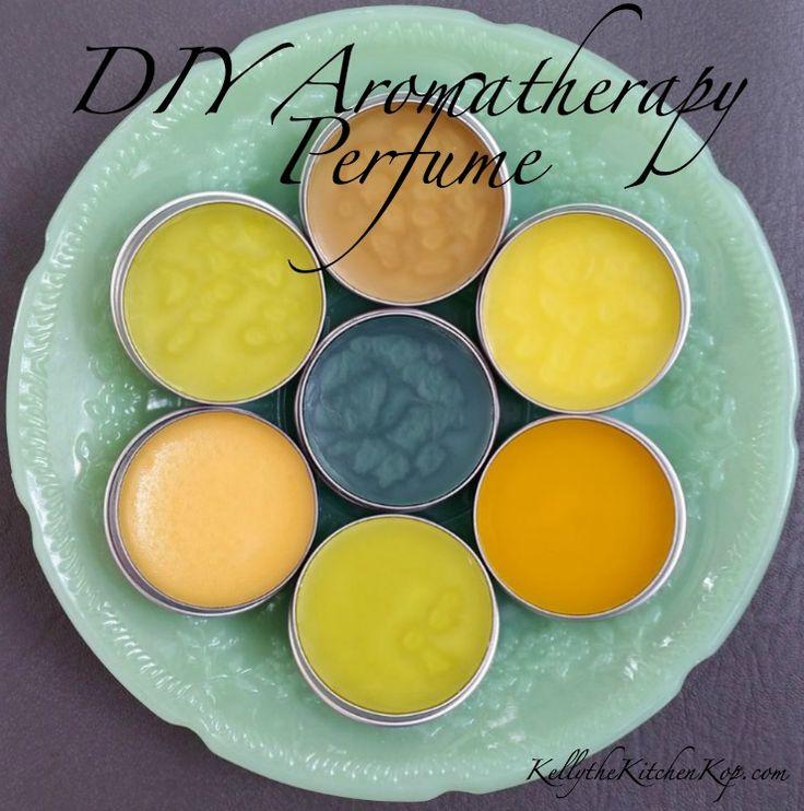 How to Make Perfume: DIY Aromatherapy Solid Perfume
