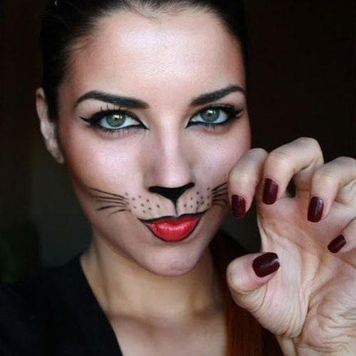 Trucco da gatta: il make-up per carnevale