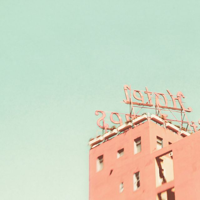 the pink hotel.