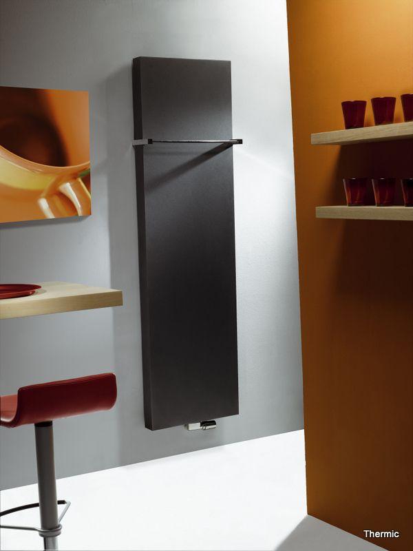 Designradiator Thermic. Van Wanrooij. Bekijk de collectie op: http://vanwanrooijtiel.nl/inspiratie/badkamer-ideeen/badkamer-onderdelen/badkamerradiator/