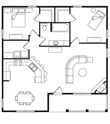 Plan For 48 Feet By 100 Feet Plot  plot Size 533 Square Yards  Plan Code 1444 together with Floor Plans also Pricing Floor Plans besides 800 Square Foot Apartment Floor Plan besides Bf1745b6d4fe4c06 1 Bedroom House Plans 600 Sq Ft Best One Bedroom House Plans. on 500 square foot house