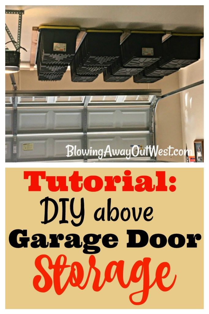 "Please follow us:Can you ever have enough Garage Storage? Garage storage, in some form is a necessity.  If your family is like mine, then you will relate. Every time someone needs to store or hide something that doesn't ""work"" in the house, it ends up in the garage.  Right inside the garage door in the …"