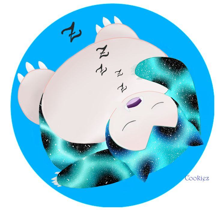 Galaxy Snorlax!  If you are interested in galaxy pokemon, send me a private message if you want me to do one for you, only $3! :3