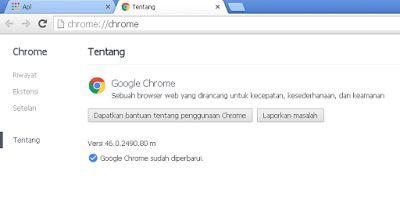Cara Update Google Chrome dan Firefox di Laptop - Buat Blog