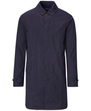 Polo Ralph Lauren Men's Raincoat - Navy XXL