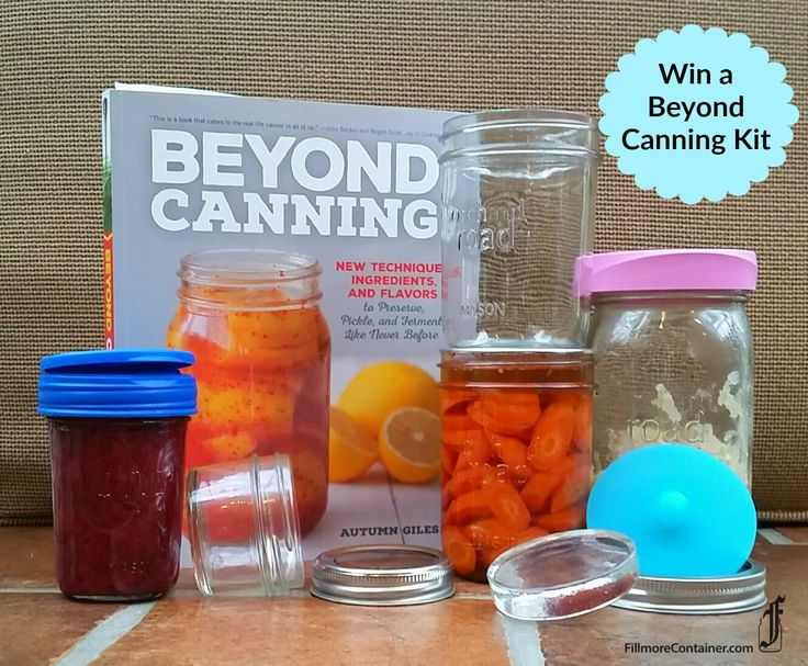 One lucky winner will receive a Beyond Canning kit which includes all the fun items listed below from Fillmore Container, plus a copy of Beyond Canning. Use the Rafflecopter widget below to enter!