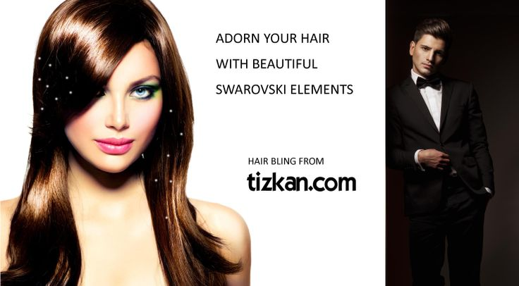 Get noticed with stylish Hair Bling from Tizkan Designs. They are made of Swarovski Elements that give you a special glitter therefore reflecting more light than other stones. Tizkan Hair Bling is easy to use and is re-usable!  This is the time to Order Yours!  Order Now from our website: www.tizkan.com