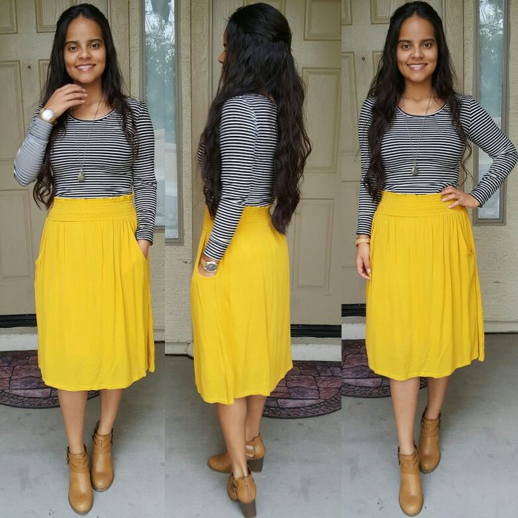 Best 25+ Yellow skirts ideas on Pinterest | Bow skirt Yellow pencil skirt outfit and Skirts ...