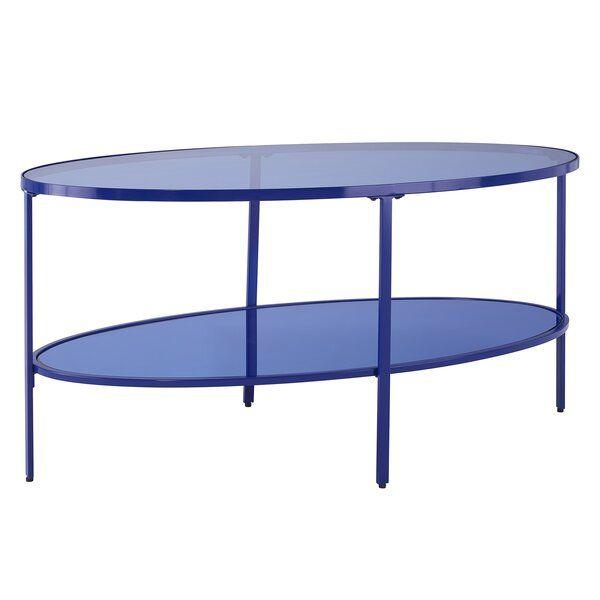 Haug Coffee Table Blue Coffee Tables Table Coffee Table Wayfair