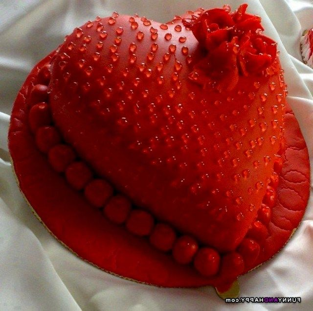 21 Pretty Photo Of Heart Birthday Cake With Images Heart