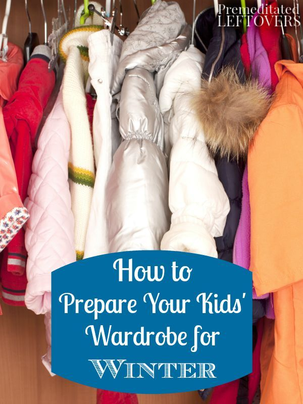 How to Prepare Your Kids' Wardrobe for Winter- Have your kids' winter clothes organized and ready to wear by following these easy steps. Get started today!