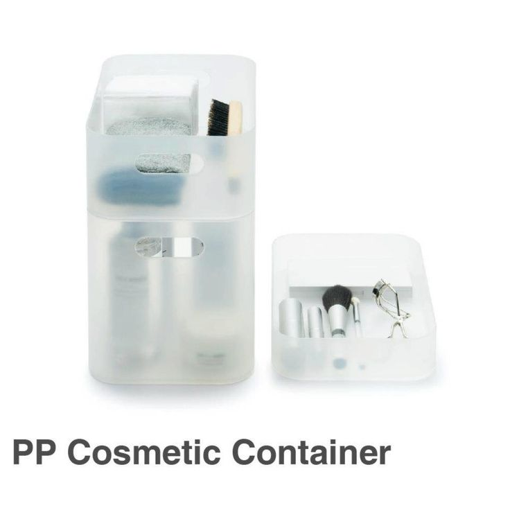 One pack solves all untidiness. This container is flexible to be used in conjunction with other boxes, which enable you to categorize various shaped cosmetic stuff and different accessories.