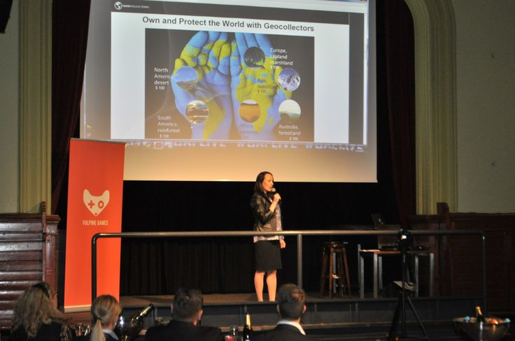My first #startup #pitch at #BAFLive event March 23rd 2015 with #Geocollectors!