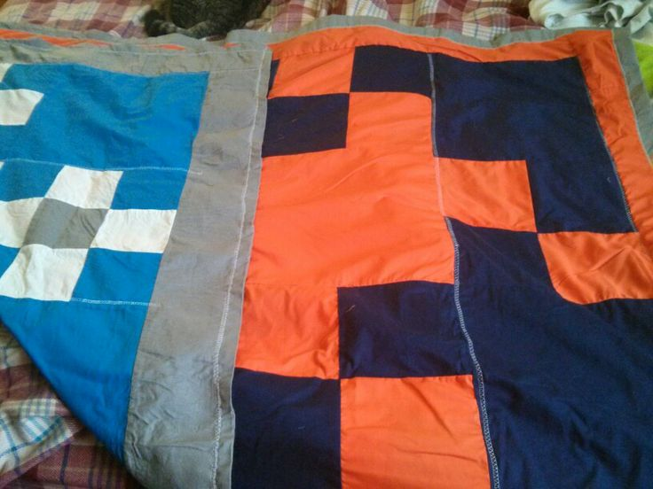 A Lap Quilt For My Husband Denver Broncos And
