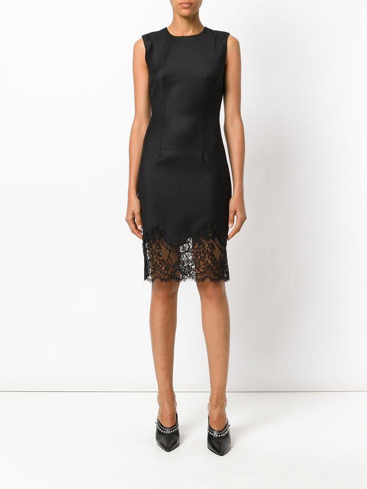 Givenchy 레이스 트리밍 시프트 드레스