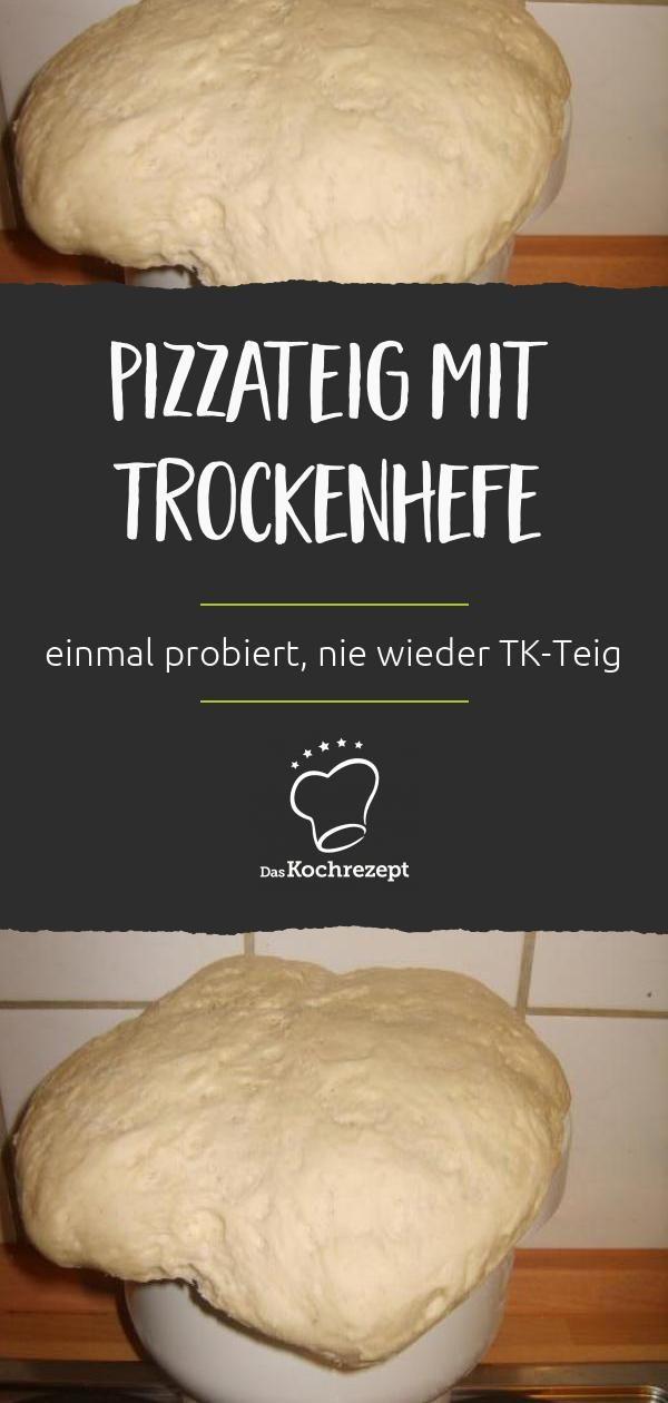 Pizzateig (mit Trockenhefe)