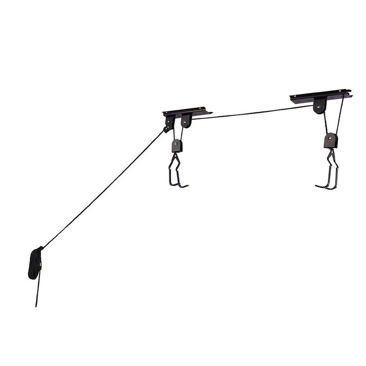 Heavy Duty Bike Lift Hoist For Garage Storage 100lb Capacity Mountain Bicycle #RADCycleProducts