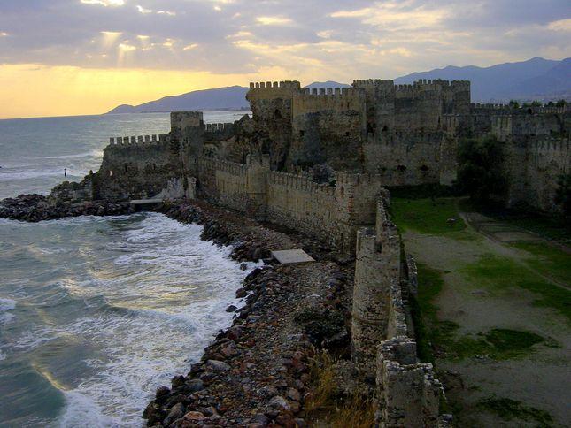 Mamure Kalesi at Antalya
