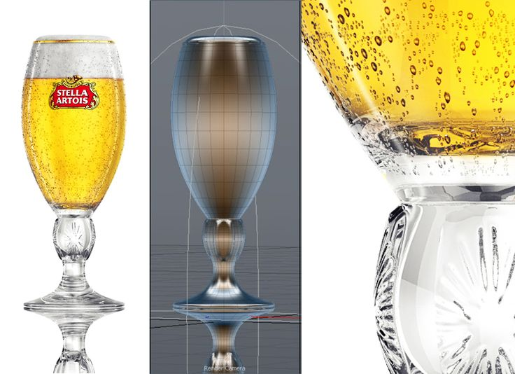 Check out my @Behance project: \u201cStella Artois - 3d model\u201d https://www.behance.net/gallery/35803037/Stella-Artois-3d-model