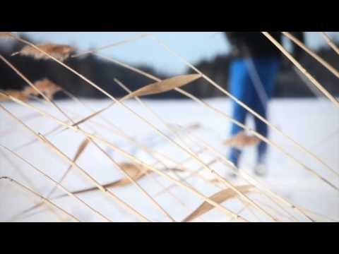 Skiing in city of Kuopio.