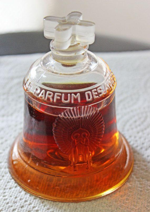 1928 R. Lalique Le Parfum Des Anges Oviatt Building Commemorative Bottle