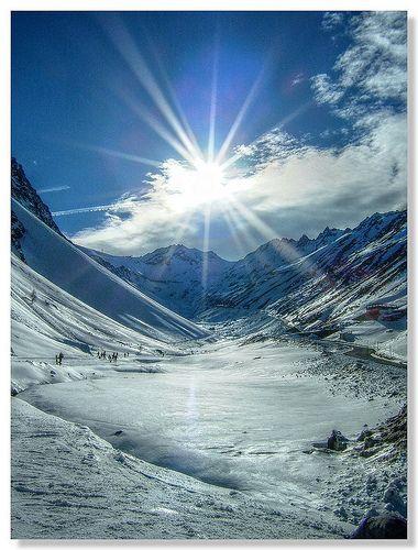 Sölden, Austria - Snowy Nature