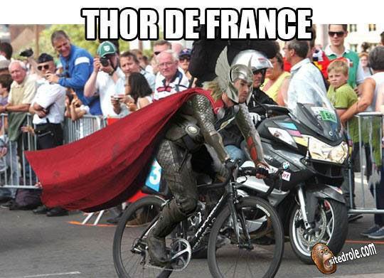 Thor de France... image drole