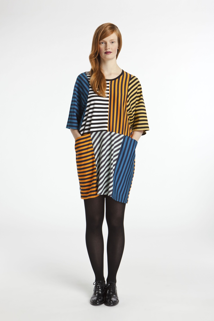 Marimekko, love the hidden pockets (and the stripes off course...)