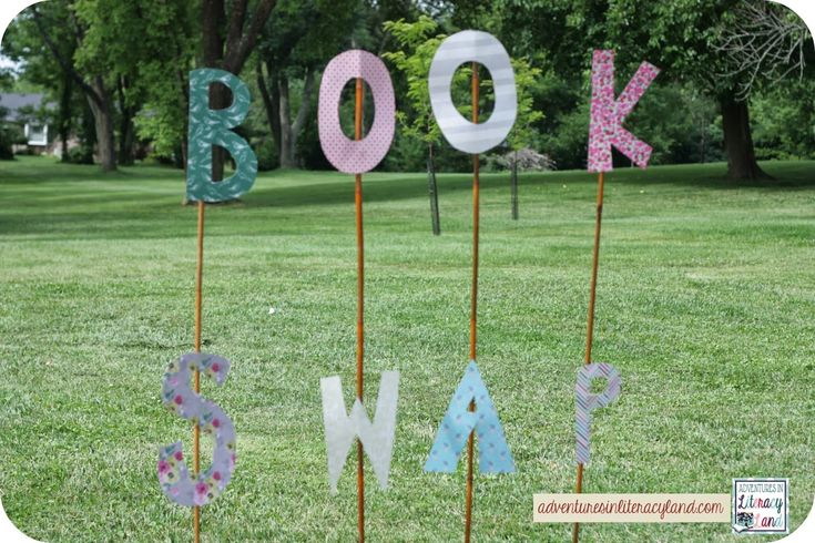 Host a Book Swap - Adventures in Literacy Land