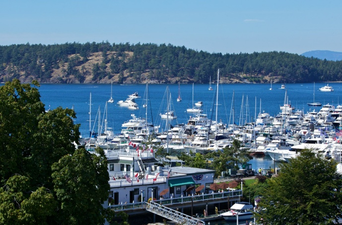 29 best windows on the water images on pinterest for Roche harbor resort cabins