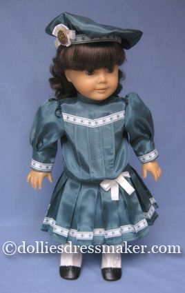 """""""American Girl Doll ~ Samantha."""" Until she throws Ginny in the trash, Maddisen dresses Ginny indiscriminately in the clothes of any era. Except for Downton Abbey, Titanic, hippie and flapper clothes, Maddisen doesn't know the difference between the eras in any case. She just wants what's """"pretty,"""" & without realizing it, tends to favor Edwardian looks."""