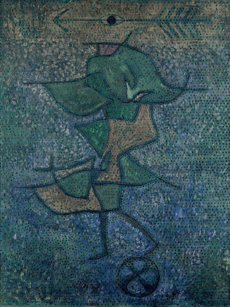 Diana, 1931, 287 (Y 7) | Paul Klee (German, born Switzerland, (1879–1940) | Oil on canvas  31 1/2 × 23 3/5 in