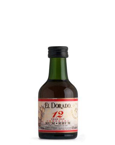 El Dorado 12 Demerara Rum 50ml