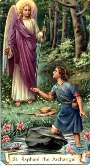 Sacra Galeria: São Rafael Arcanjo