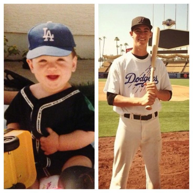 He's gonna be a dodger!! Here is a young Clay Bellinger, the Dodgers 4th Round Draft Pick  @CodyBellinger8 pic.twitter.com/wp3CrrfuA2