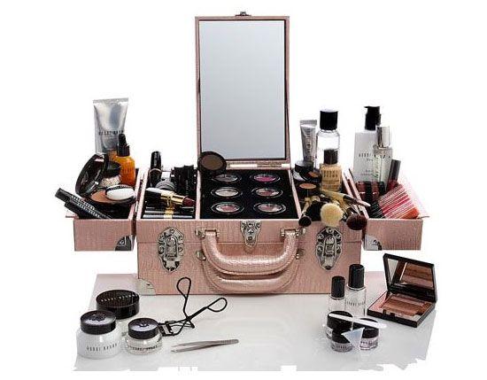 Maleta de maquillaje para viajar